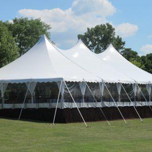 Peg & Pole Tent 9m x 27m Manufacturer