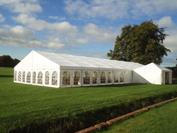Frame Tent 20m x 50m Manufacturer