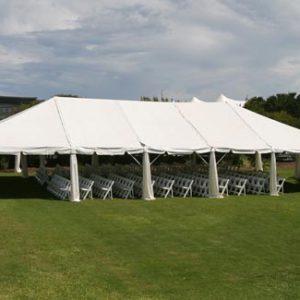 Peg & Pole Tent 30m x 50m Manufacturer