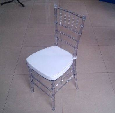 Tiffany Chair Clear Resin Manufacturer