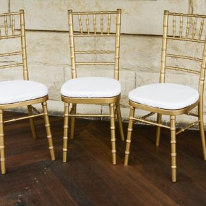 Tiffany Chair Gold Manufacturer