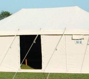 Canvas Tent 5m x 5m Hip Roof Manufacturer